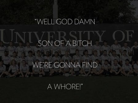 University of Mary Washington's Entire Rugby Team Disbanded After A Few Of Them Sang a Song About Banging a Whore