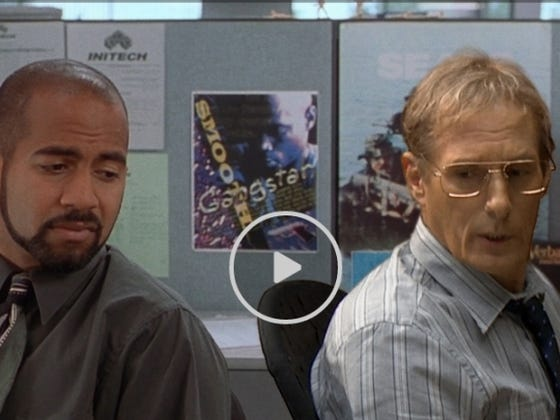 The Real Michael Bolton Reenacts Scenes From Office Space