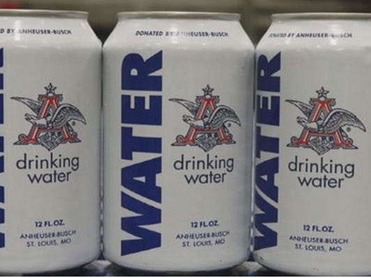 Anheuser-Busch Plant Stops Beer Production, Cans Water To Send To Texas And Oklahoma Flood Victims Instead