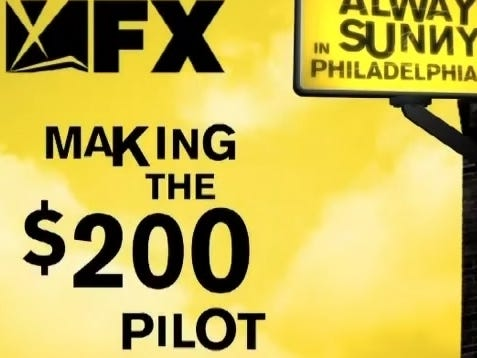 Wake Up With The Making Of The $200 Always Sunny In Philadelphia Pilot