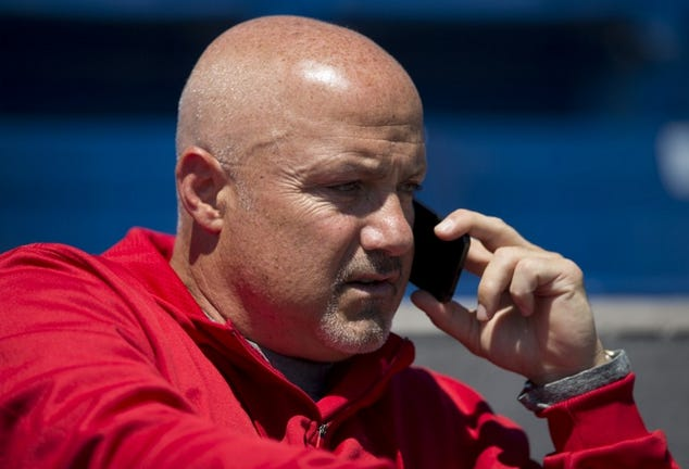 Nats GM Mike Rizzo Looking  Suave as Fuck