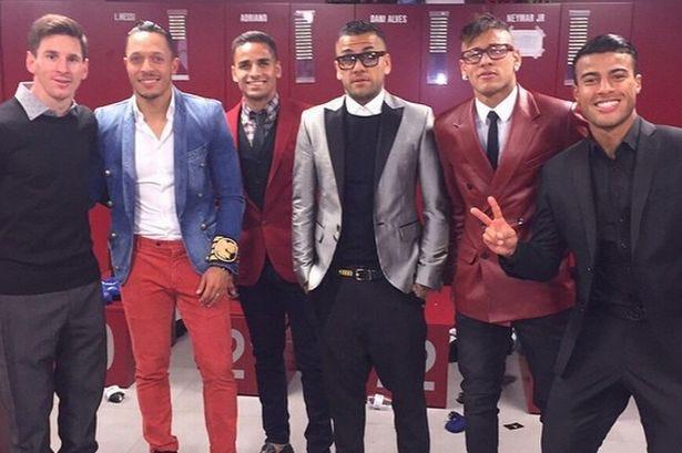 Barcelona-players