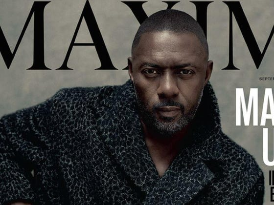 Maxim Magazine Has Idris Elba On Its Cover, The First Time They've Ever Featured A Guy There