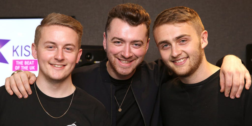 Sam Smith And Disclosure Visit Kiss FM