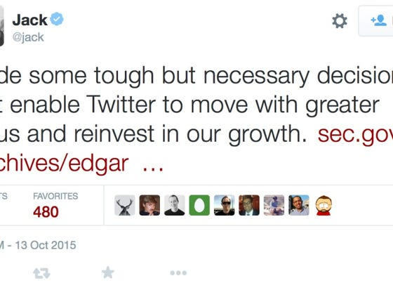 Some Guy Found Out Twitter Let Him Go Today In The Most Awkward Way Imaginable
