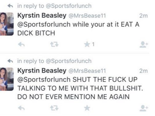 Cole Beasley's Wife Was Not Happy With People Calling Out Her Husband On Twitter