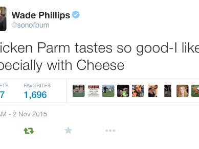 Wade Phillips Has To Be The Most Random Twitter Troll In The World But I LOVE It
