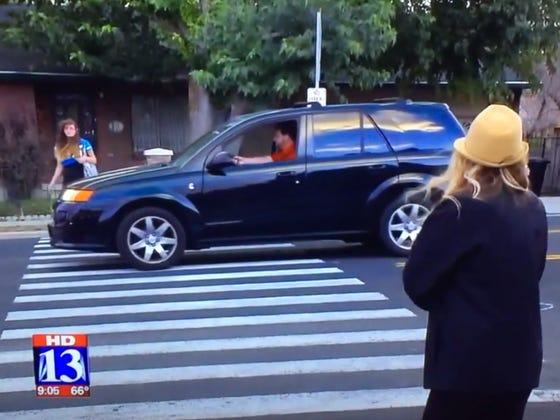 Local News Tried To Fake A Caught-On-Camera Accident For Their Report And Failed Miserably