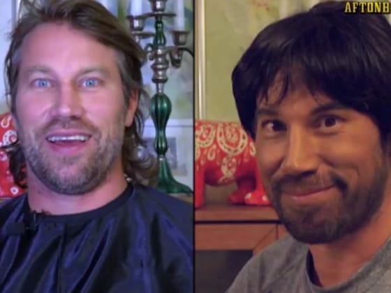 """Peter Forsberg Pulls An """"Uncle Drew"""" At A Men's League Game In Sweden"""