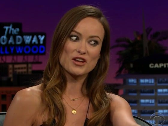 Olivia Wilde Told A Story About Meeting Chris Farley On The James Corden Show