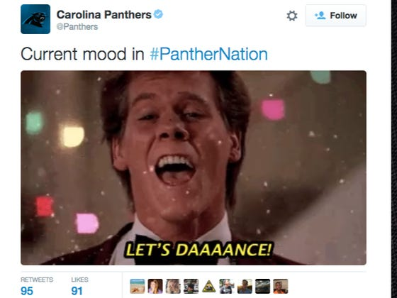 The Panthers Twitter Account Just Took A Dump All Over That Woman And Her Fake Kid