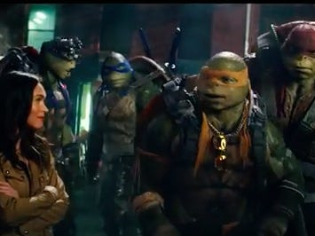 The New Teenage Mutant Ninja Turtles Trailer Is Out And I'm So In