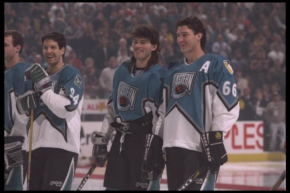 Mario Lemieux NHL All Star game