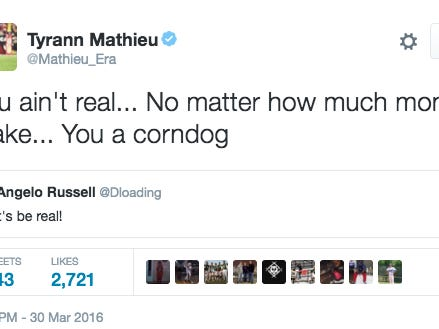 There's No Coming Back From Tryann Mathieu Calling You A Corndog