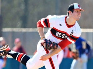 Carlos Rodon In A Great NC State Uniform
