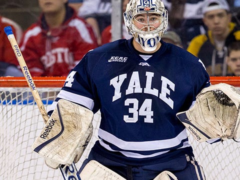 Broad Street, Hexy Never Sleeps: Flyers Sign Top NCAA Goalie Alex Lyon To An ELC.