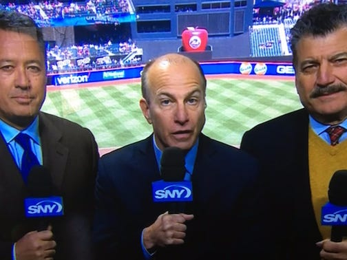 """Gary Cohen Dropping What Sounded Like A """"Keith Hernandez Did Cocaine"""" Joke Is Why The Mets Announcers Are The GOATs"""
