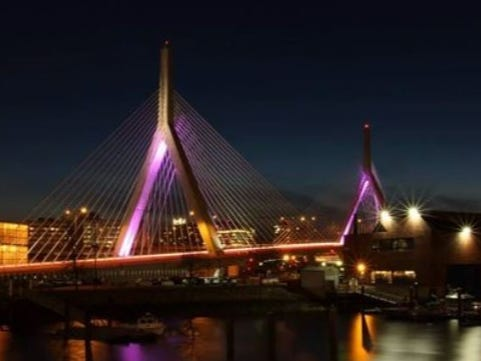 Is Prince Zakim Bridge Big?