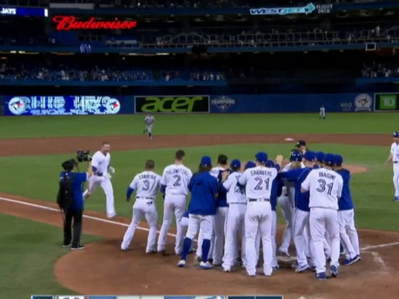 Justin Smoak Hits Game-Tying Home Run In The 9th, Walk-Off Home Run In The 10th