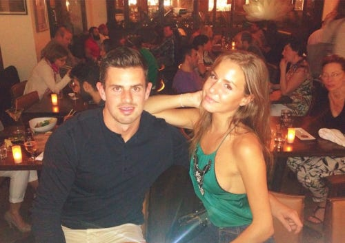 Alex-Killorn-girlfriend-Justine-photo
