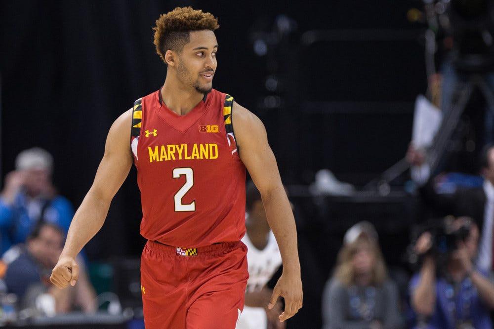 NCAA BASKETBALL: MAR 12 Big Ten Tournament - Michigan State v Maryland