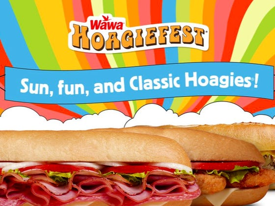 Your Friendly Reminder We Are Smack Dab In The Middle Of Wawa's Hoagiefest