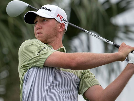 Daniel Berger Withdraws From The Bridgestone With An Injury But Not Before Hitting One Tee Shot To Earn $50,000