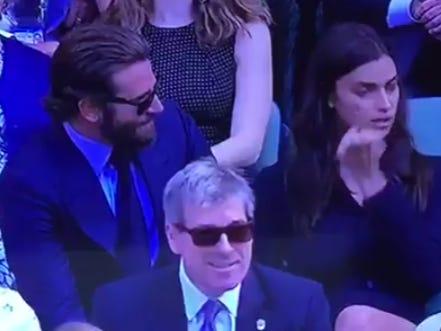 How 'Bout Bradley Cooper Making Irina Shayk Cry At Wimbledon?