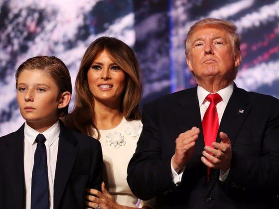 A New Star Was Born In Barron Trump Last Night