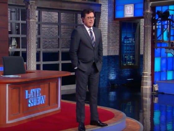 Stephen Colbert Would Like To Ask Trump What Vladimir Putin's Dick Tastes Like