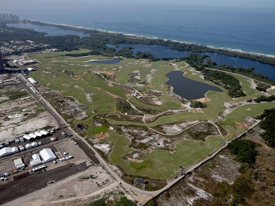 How About The Lady Golfers Playing The Rio Olympic Course 1,000 Yards Shorter Than The Men?