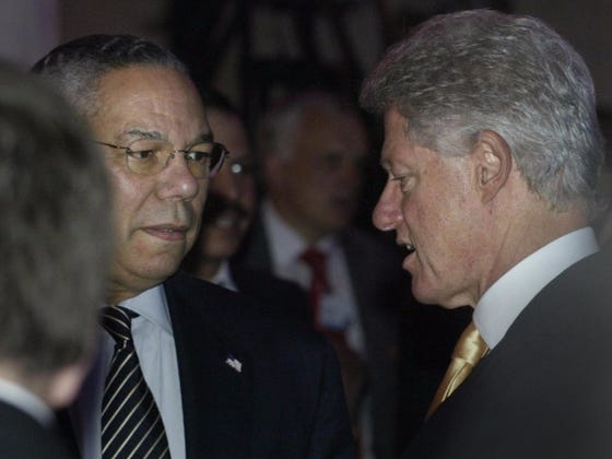 """Colin Powell Saying That Bill Clinton Is """"Still Dicking Bimbos At Home"""" Is Awesome"""