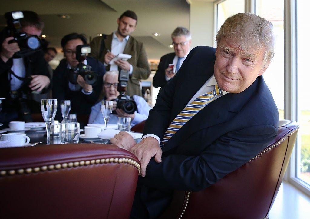 Donald Trump Visits Turnberry Golf Club