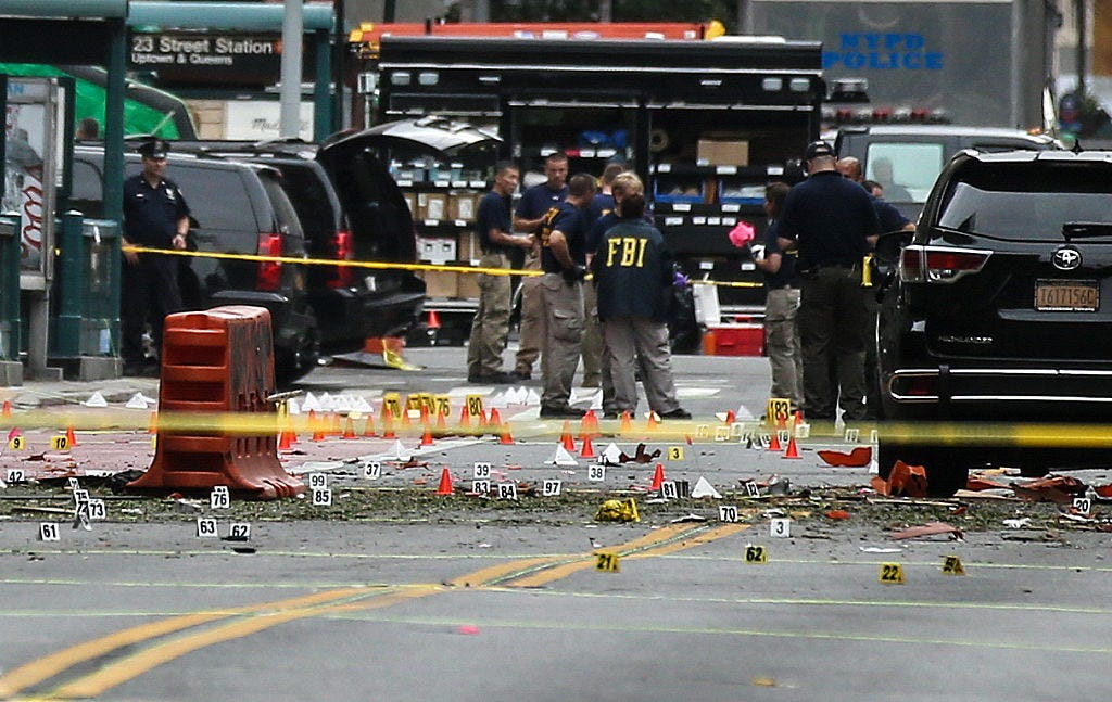 Manhattan, New York City hit by explosion
