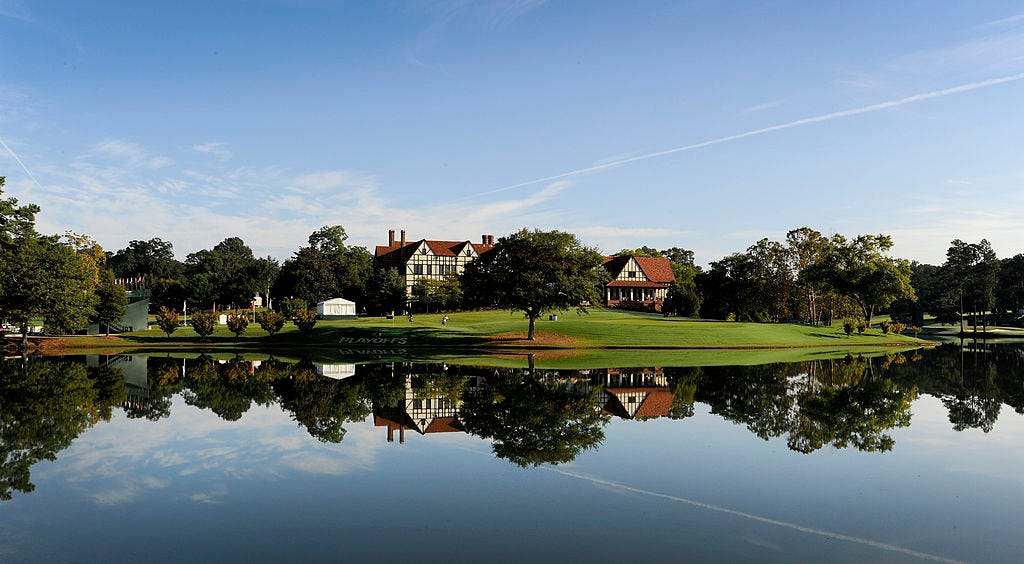 The TOUR Championship presented by Coca-Cola - Round Two