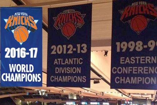 knicks banner