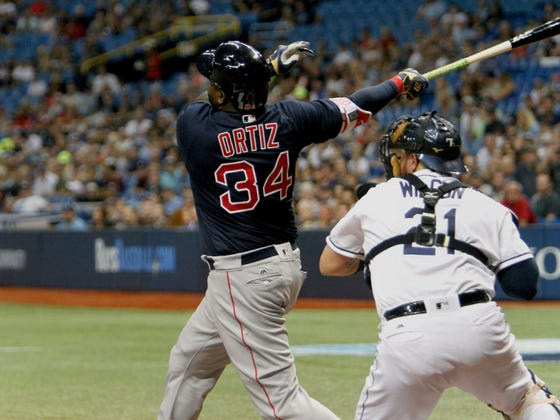 David Ortiz Hit A Six Thousand Foot Home Run Off Chris Archer For Old Time's Sake, And That's All The Red Sox Needed To Win 9 Straight