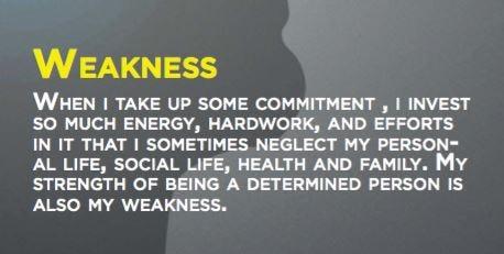 weaknessesss