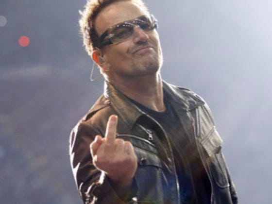 Congrats To Bono Who Has Been Nominated For 'Woman Of The Year'