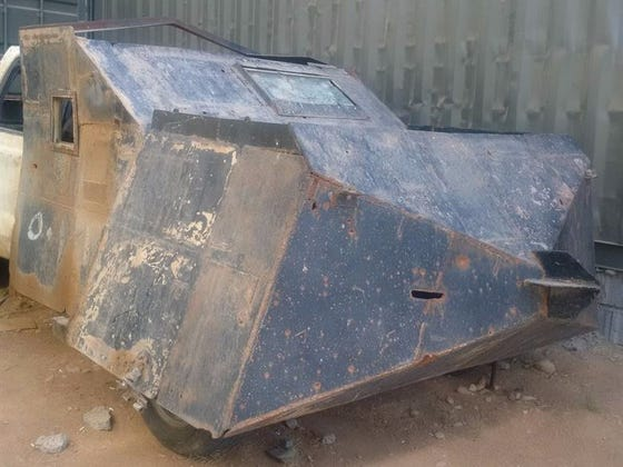 ISIS Has Mad Max Style VBIEDs And They Look Kinda Badass