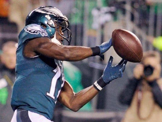 Nelson Agholor STINKS And There's Nothing The Eagles Can Do About It