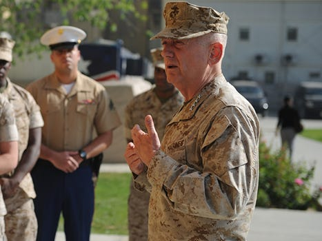 Marine General James Mad Dog Mattis Might Be The Next Secretary Of Defense