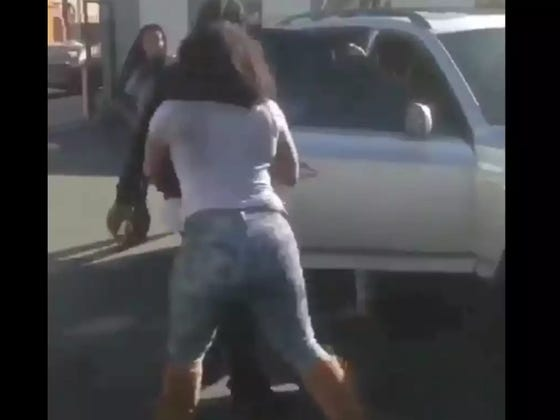 A Chick Fight Went From Fisticuffs To A Round Of Bumper Cars With Actual Automobiles And I Love The Move
