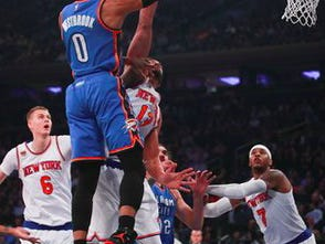 After Grabbing 18 Rebounds Last Night, Russell Westbrook Is Now Averaging A Triple Double