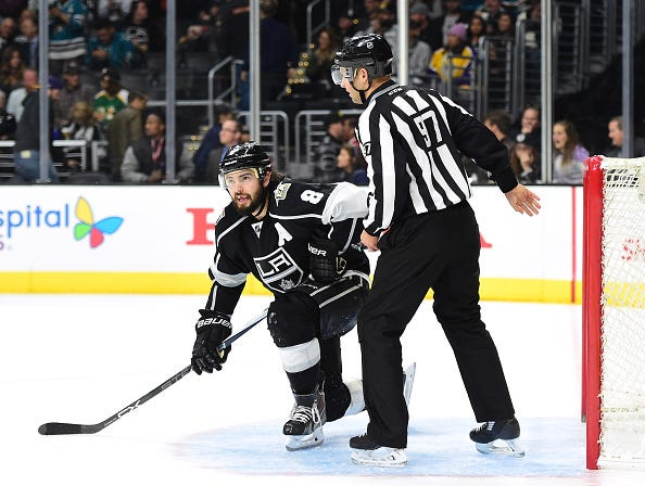 San Jose Sharks v Los Angeles Kings