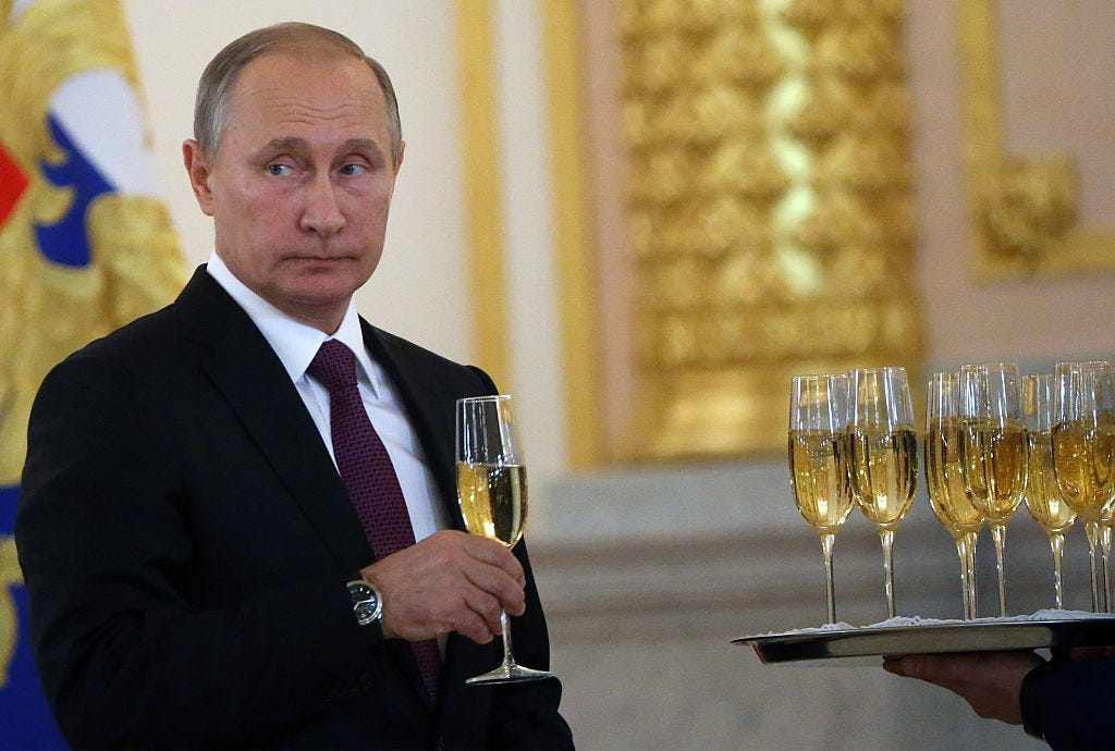 Russian President Vladimir Putin Attends Foreign Ambassadors Meeting In Moscow