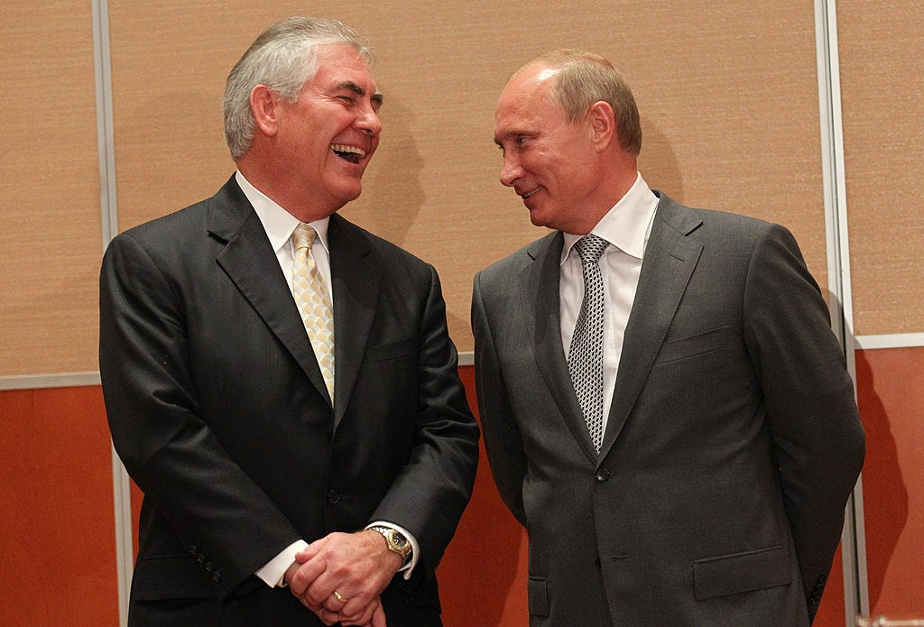 Exxon Mobil Agrees Arctic Oil Exploration Deal With Russian Oil Company