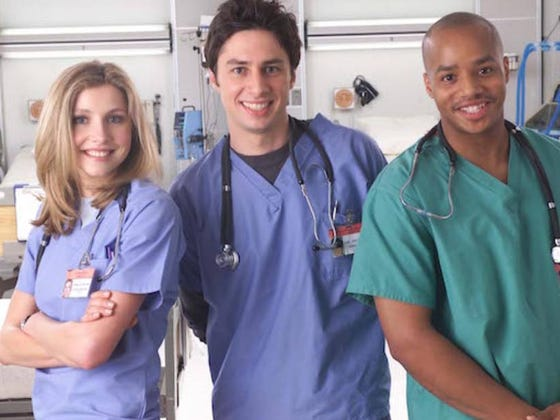 """Zach Braff Says He's Open To A 'Scrubs"""" Reboot But I Don't Know If I Want One"""