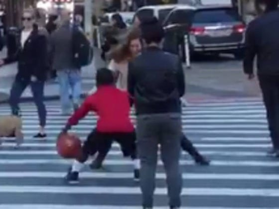 If You Try To Guard A Little Person Dribbling A Basketball In The Streets Of New York, Your Ankles Just May Get Shattered