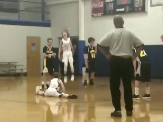 Now This Is How You Properly Celebrate The Heck Out Of A Free Throw